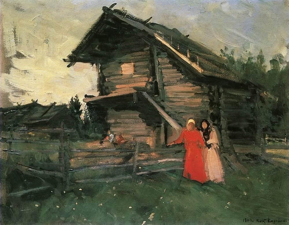 Константин КОровин. Сарай